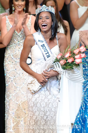 Being crowned Miss SC Teen USA in 2010