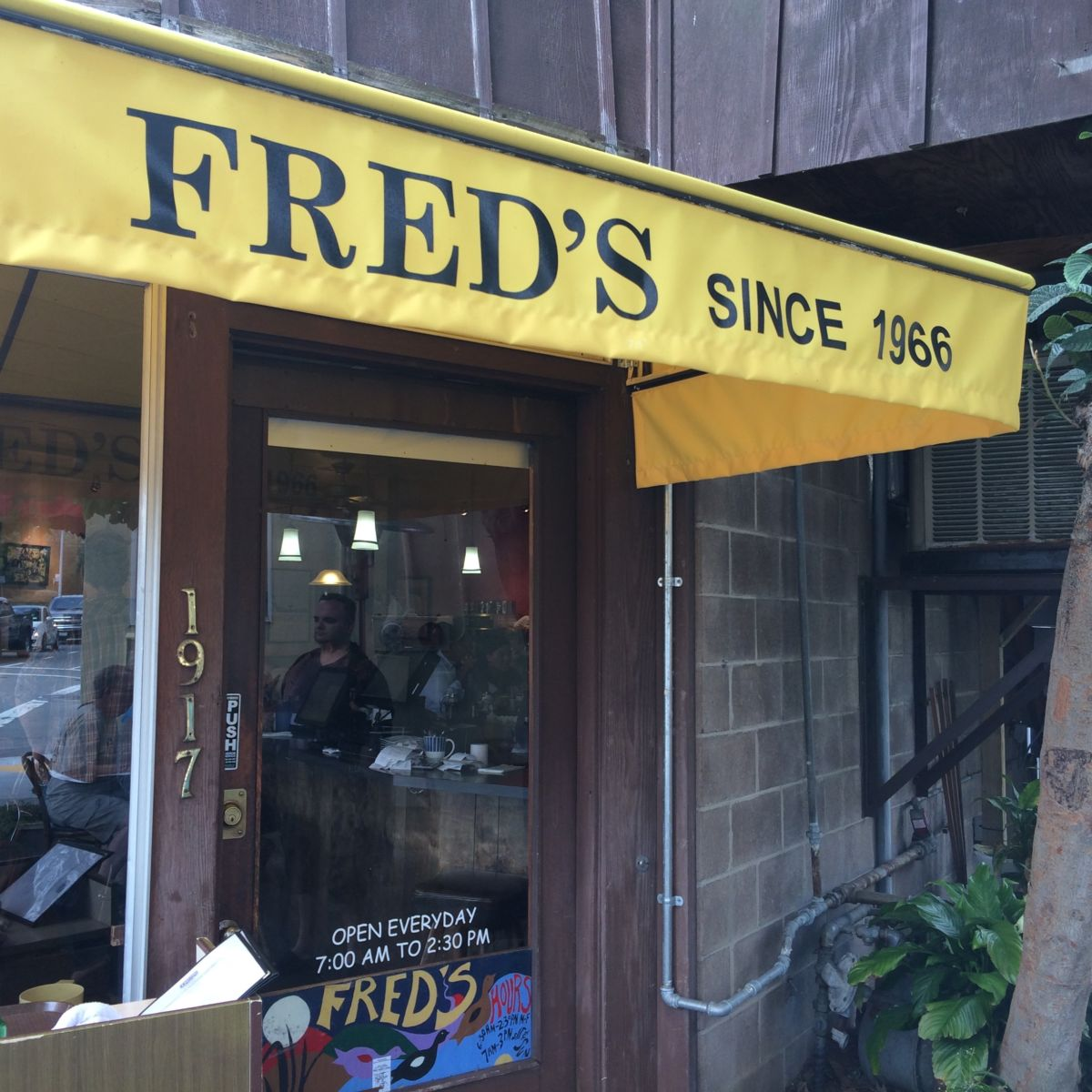 Fred's Place Sausalito // Shades of Pinck
