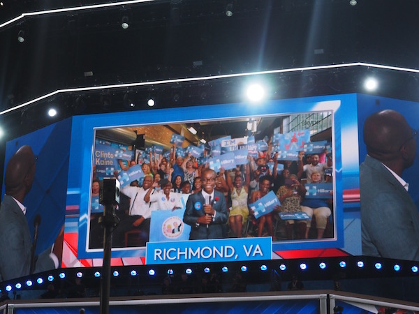 If you watched the DNC there's no way you could forget this kid! So precious!!